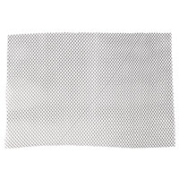 2' Black Plastic Mesh Bar Mat / Shelf Liner