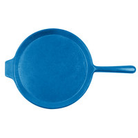 Tablecraft CW4130SBL Sky Blue 10 inch Cast Aluminum Pizza Tray with Handle