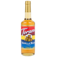 Torani 750 mL Vanilla Bean Flavoring Syrup