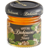 Dickinson's 1.1 fl. oz. Pure Clover Honey - 72/Case
