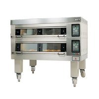 Doyon 4T2 Artisan 2 Stone Side Load 56 inch Deck Oven - 8 Pan Capacity, 480V, 3 Phase