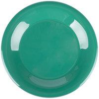Carlisle 4301209 Durus 9 inch Green Wide Rim Melamine Plate - 24/Case