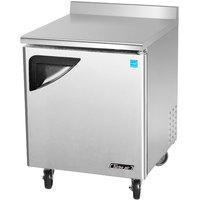 Turbo Air TWF-28SD 28 inch Super Deluxe Single Door Worktop Freezer - 7 cu. ft.