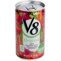 Campbell's V8 5.5 oz. Original Vegetable Juice - 48/Case
