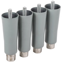 Traulsen GSACC-LEGS 6 inch Leg Set for G-Series - 4 / Set