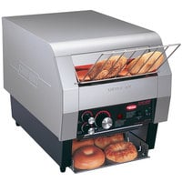 Hatco TQ-400BA Toast Qwik One Side Conveyor Toaster - 2 inch Opening, 120V