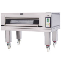 Doyon 2T1 Artisan 1 Stone 37 1/2 inch Deck Oven - 2 Pan Capacity, 480V, 3 Phase