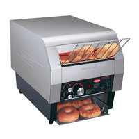 Hatco TQ-400BA Toast Qwik One Side Conveyor Toaster - 2 inch Opening