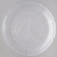 Carlisle 695607 Petal Mist 8 7/8 inch Clear Polycarbonate Plate