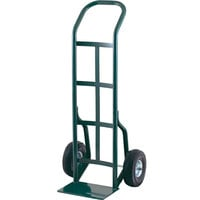 Harper 30T16 Continuous Handle 800 lb. Steel Hand Truck with 10 inch x 3 1/2 inch Pneumatic Wheels
