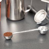 Tablecraft 403 1 & 2 Tbsp. Stainless Steel Coffee / Measuring Scoop Combo