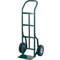 Harper 30T60 Continuous Handle 800 lb. Steel Hand Truck with 10 inch x 2 1/2 inch Solid Rubber Wheels