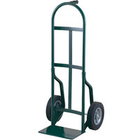 Harper 46T60 Continuous Single Pin Handle 800 lb. Steel Hand Truck with 10 inch x 2 1/2 inch Solid Rubber Wheels