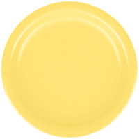 Creative Converting 79102B 7 inch Mimosa Yellow Paper Plate - 240/Case