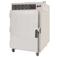 NU-VU SMOKE6 Half Height Cook and Hold Smoker Oven - 240V, 1 Phase