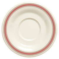 GET SU-2-OX Diamond Oxford 5 1/2 inch Melamine Saucer - 48/Case