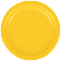Creative Converting 791021B 7 inch School Bus Yellow Paper Plate - 240/Case