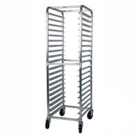 Win-Holt AL-1820B 20 Pan End Load Medium-Duty Aluminum Bun / Sheet Pan Rack - Assembled