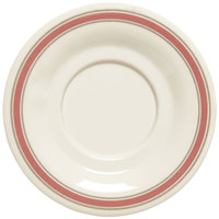 GET SU-3-OX Diamond Oxford 5 1/2 inch Melamine Saucer - 48/Case