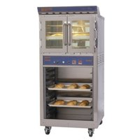Doyon JA4SC Jet Air Single Deck Electric Bakery Convection Oven with Storage Cabinet - 120/240V, 8 kW