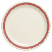 GET NP-6-OX Diamond Oxford 6 1/2 inch Plate - 48/Case