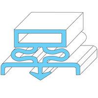 Traulsen 9502 Equivalent Rubber Magnetic Door Gasket - 21 1/2 inch x 29 1/2 inch