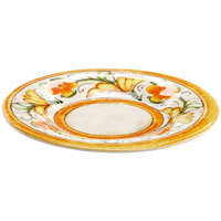 Elite Global Solutions D8P Tuscany 8 1/2 inch Design Melamine Plate - 6/Case