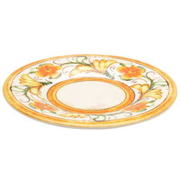 Elite Global Solutions D10P Tuscany 10 1/4 inch Design Melamine Plate - 6/Case