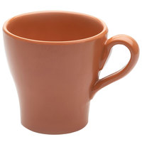 Elite Global Solutions D4C Tuscany 14 oz. Sunburn Terra Cotta Melamine Mug - 6/Case