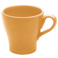 Elite Global Solutions D4C Tuscany 14 oz. Mustard Yellow Melamine Mug - 6/Case