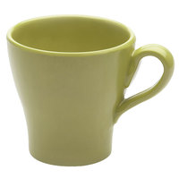 Elite Global Solutions D4C Tuscany 14 oz. Weeping Willow Green Melamine Mug - 6/Case