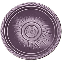 Elite Global Solutions V121 Hot Cha-Cha Purple 12 inch Round Plate - 6/Case