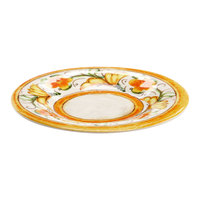 Elite Global Solutions D7P Tuscany 7 1/2 inch Design Melamine Plate - 6/Case