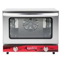 Avantco CO-14 Quarter Size Countertop Convection Oven, 0.8 Cu. Ft. - 120V, 1440W