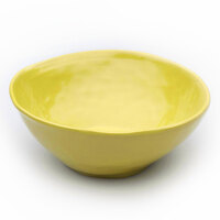 Elite Global Solutions D675B Tuscany 24 oz. Mustard Yellow Melamine Bowl