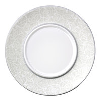 Elite Global Solutions D0005 Victoria 11 1/2 inch Roses Plate
