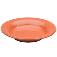 Elite Global Solutions D1178PB Tuscany 28 oz. Sunburn Terra Cotta Melamine Soup / Pasta Bowl