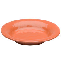 Elite Global Solutions D1178PB Tuscany 28 oz. Sunburn Terra Cotta Melamine Soup / Pasta Bowl - 6/Case