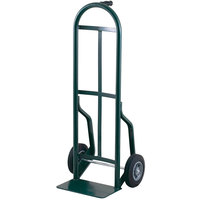 Harper 54T85 Continuous Single Pin Handle 600 lb. Steel Hand Truck with 8 inch x 2 inch Solid Rubber Wheels
