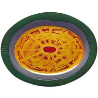 Elite Global Solutions V1411 Hot Cha-Cha Design 15 inch Oval Platter