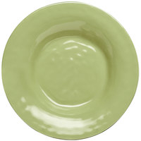Elite Global Solutions D9PB Tuscany 14 oz. Weeping Willow Green Melamine Soup / Pasta Bowl