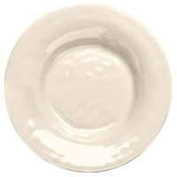 Elite Global Solutions D9PB Tuscany 14 oz. Antique White Melamine Soup / Pasta Bowl - 6/Case