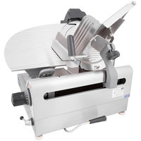 Globe 3850N 13 inch Heavy Duty Automatic 2 Speed Slicer - 1/2 hp