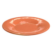 Elite Global Solutions D11P Tuscany 11 1/4 inch Sunburn Terra Cotta Melamine Plate - 6/Case