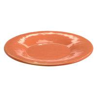 Elite Global Solutions D11P Tuscany 11 1/4 inch Sunburn Terra Cotta Melamine Plate