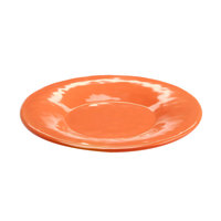 Elite Global Solutions D6P Tuscany 6 1/4 inch Sunburn Terra Cotta Melamine Plate - 6/Case