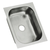 Eagle Group FDI-10-14-5-1 One Compartment 16 inch x 12 inch Seamless Weld In Sink - 5 inch Deep