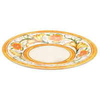 Elite Global Solutions D12P Tuscany 12 1/4 inch Design Melamine Plate - 6/Case