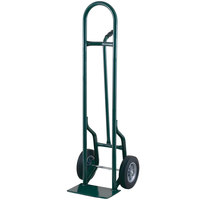 Harper 35T60 Single Pin Handle 800 lb. Tall Steel Hand Truck with 8 inch x 2 1/4 inch Solid Rubber Wheels