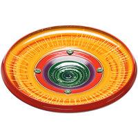Elite Global Solutions V183 Hot Cha-Cha Design 18 3/4 inch Round Platter